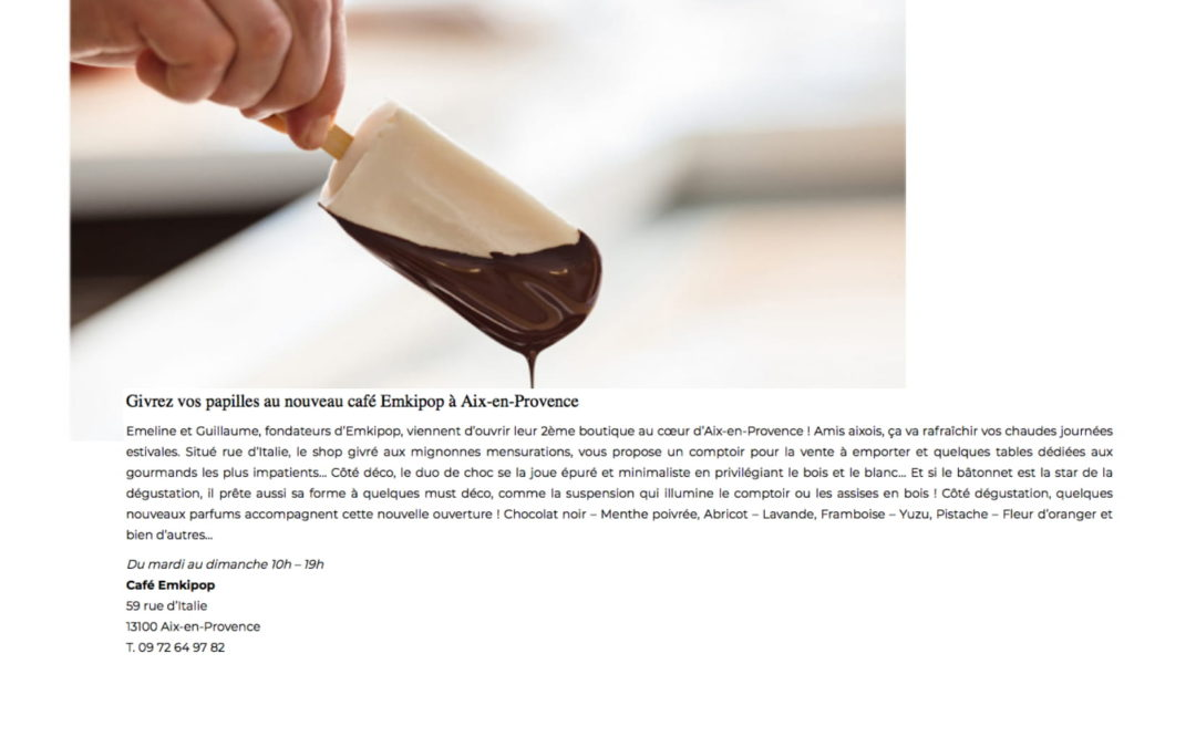 CôtéMagazine.fr – 07/06/18