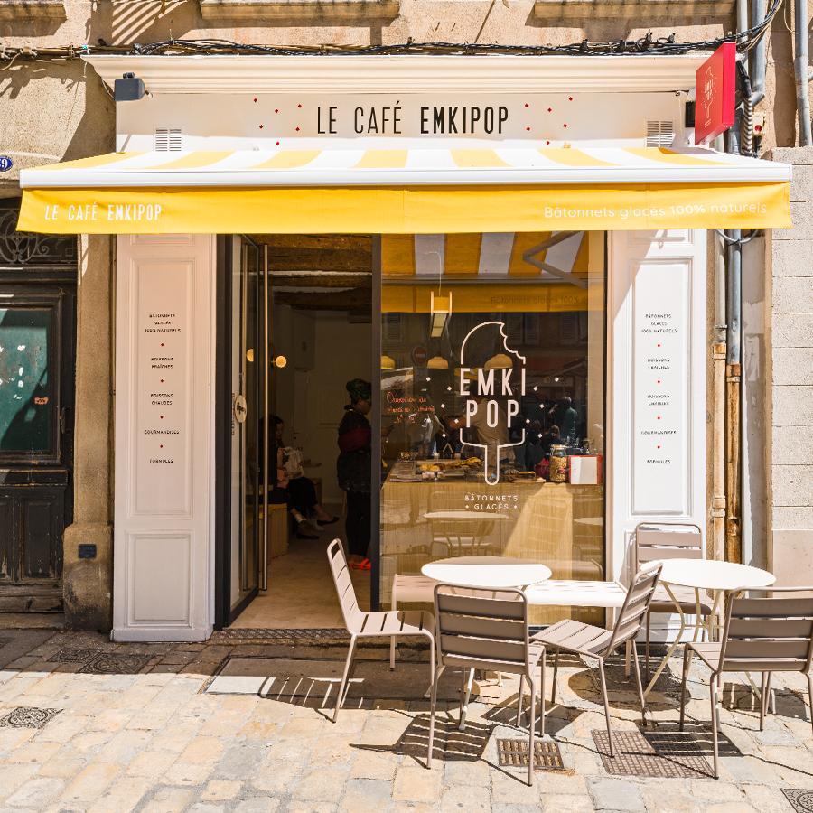 Café Emkipop Aix en Provence 59 rue d'Italie