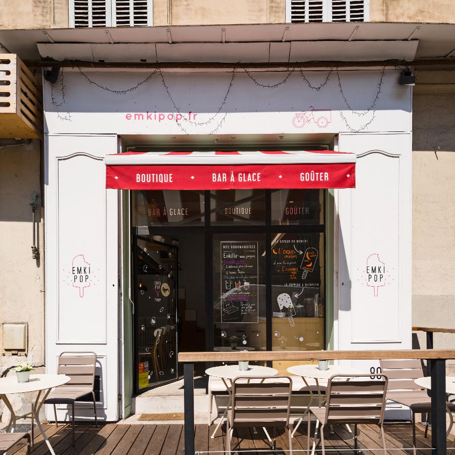 Café Emkipop Marseille 80 Boulevard Vauban