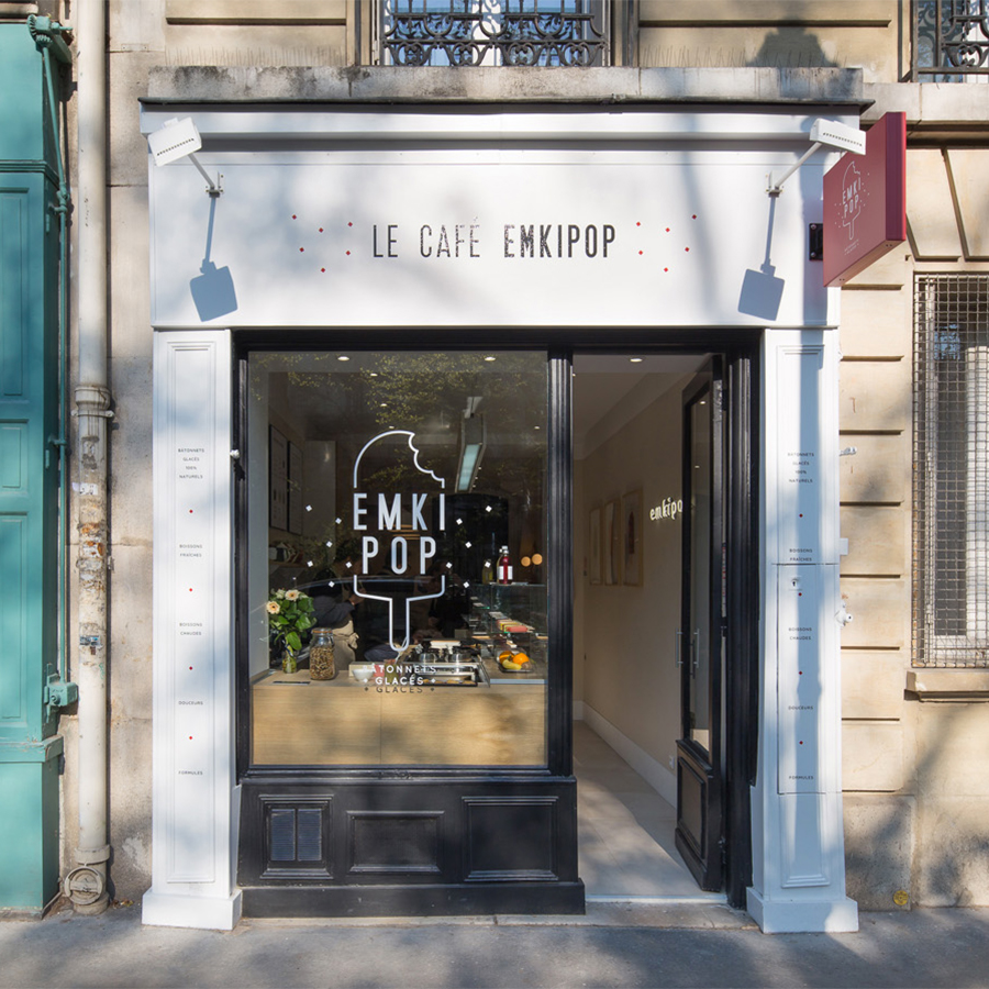 Café Emkipop Paris 13 Rue Antoine Vollon