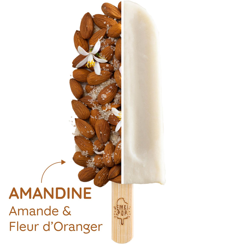 Amandine - Amande & Fleur d'Oranger | Glace Artisanale