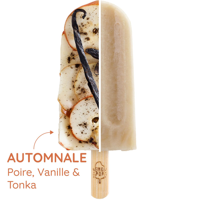 Automnale - Poire, Vanille & Tonka | Sorbet Artisanal