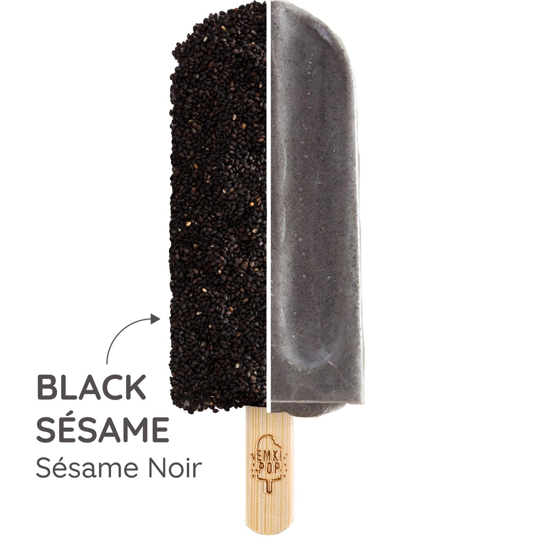 Black Sésame - Sésame Noir | Glace Artisanale