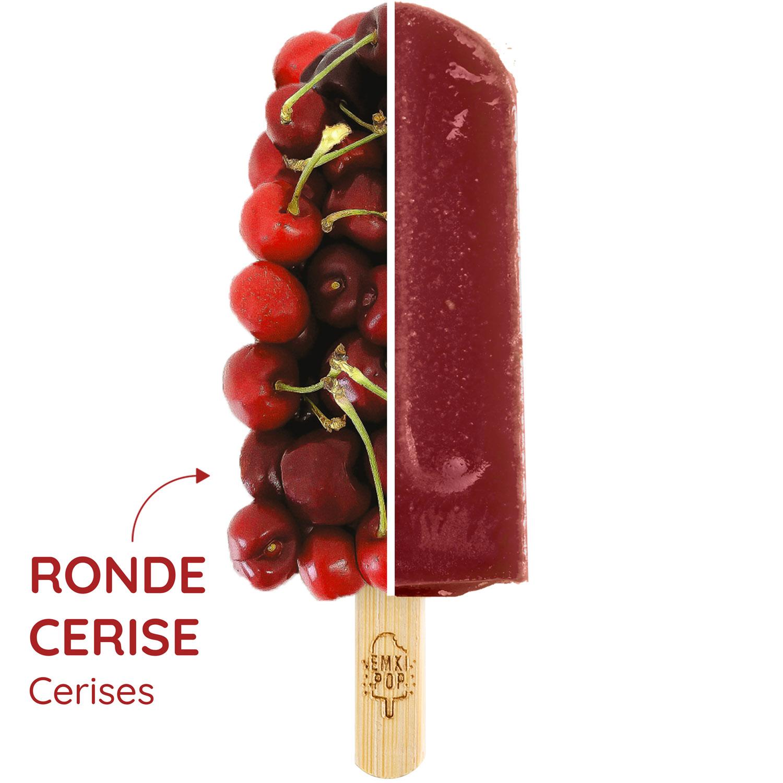 Ronde Cerise | Sorbet Artisanal