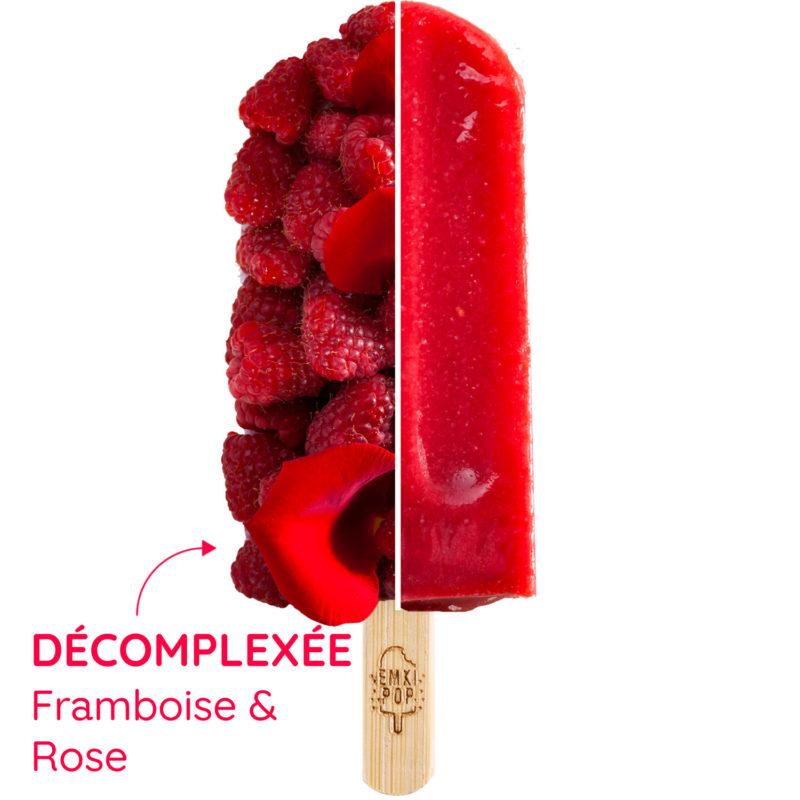 Décomplexée - Framboise & Rose   Sorbet Artisanal