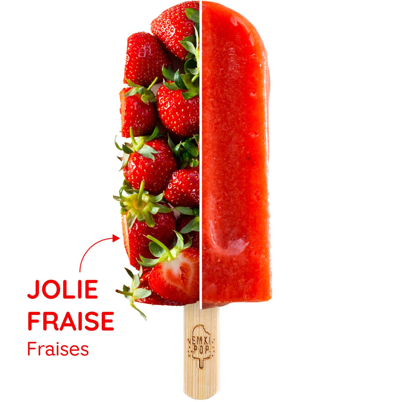 Jolie Fraise | Sorbet Artisanal
