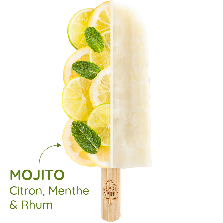 Mojito - Citron, Menthe & Rhum | Sorbet Artisanal