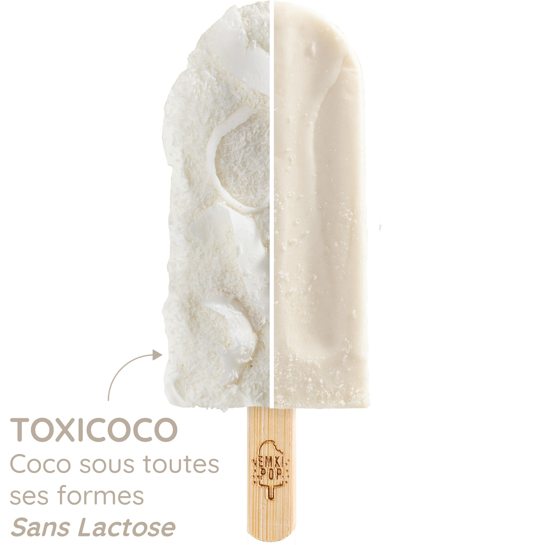 Toxicoco - Coco sous toutes ses formes - Sans lactose | Glace Artisanale