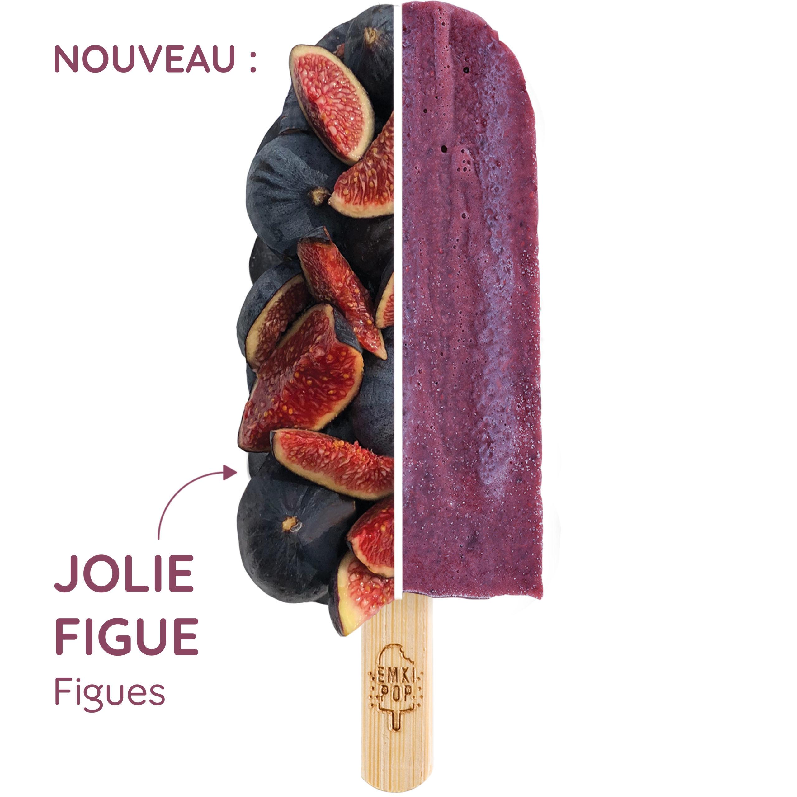Jolie Figue | Sorbet artisanal à la Figue